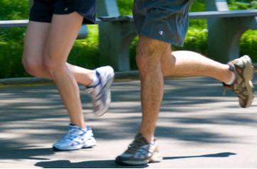 begin je net met hardlopen