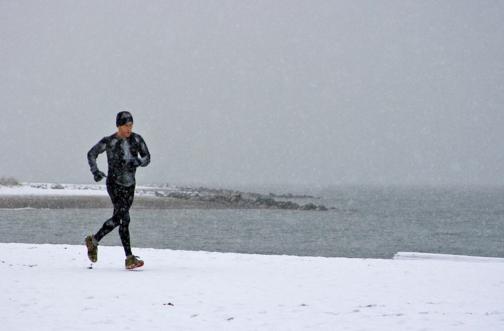 winter hardlopen